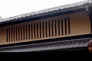 Mushikomado type of window
