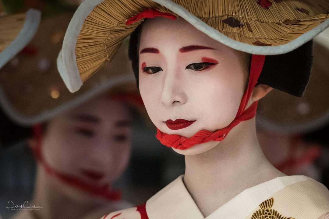 Fumino chan, Geisha, Gion Matsuri (Ato), Kyoto