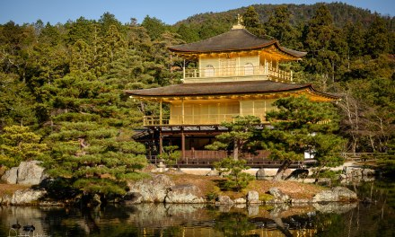 Kinkaku-Ji, the Golden Pavilion