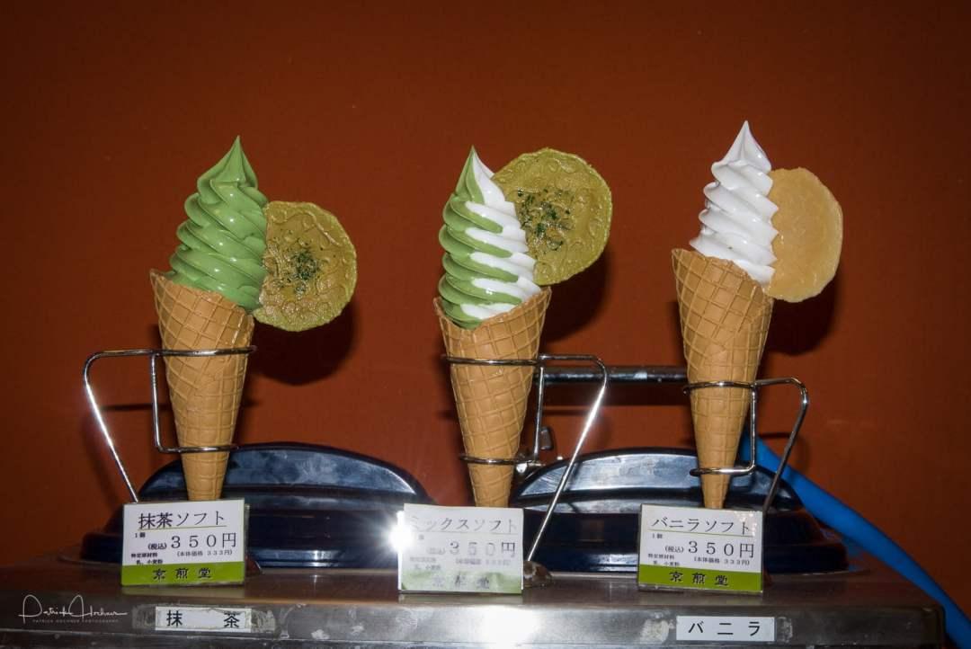 Macha (green tea) Icecream
