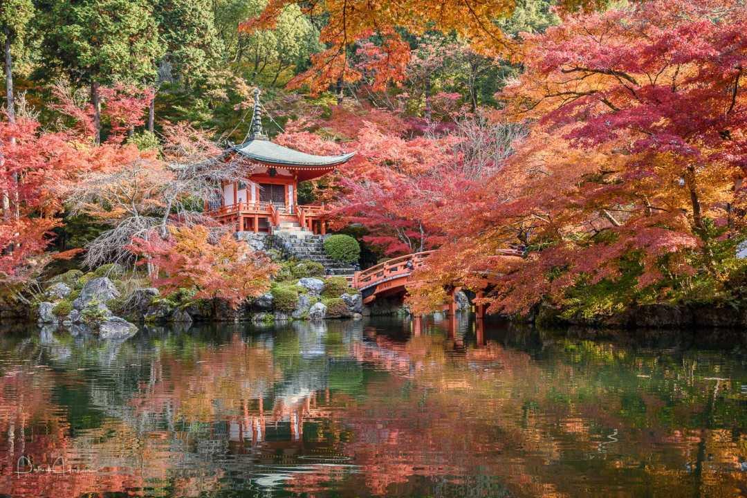 The Bentendo Hall at Daigo-Ji Temple