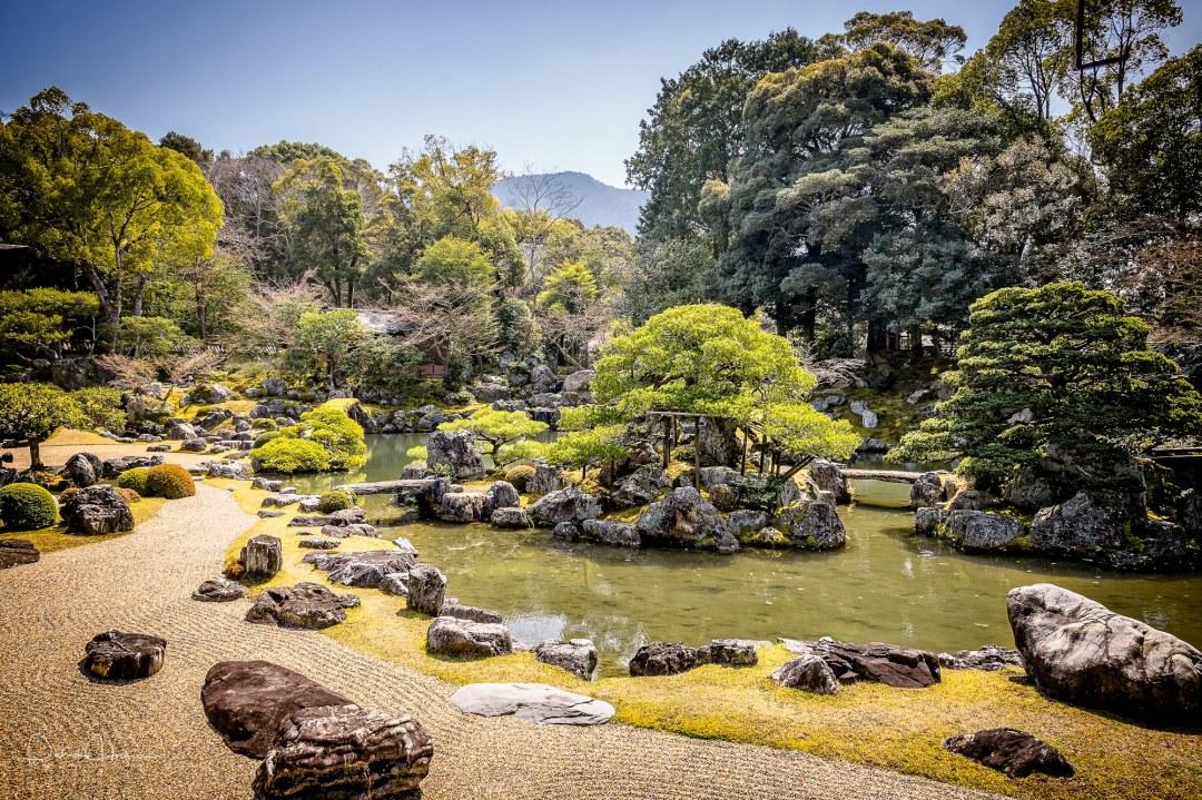 Private garden, Daigo-Ji Temple, Kyoto