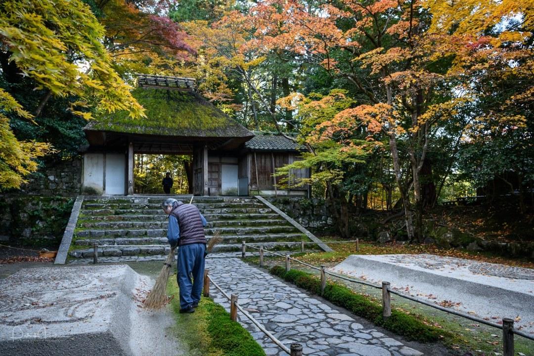 Honen-Ji Temple during the fall, Kyoto