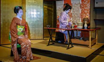 Tea Ceremony in Kamishichiken