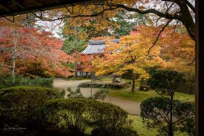 Inside the grounds, Saimyo-Ji Temple in Takao, Kyoto