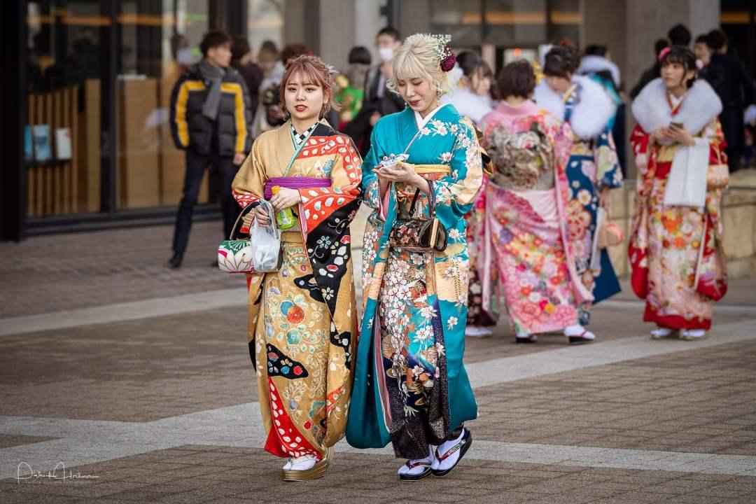Coming of Age or Seijin ni Hi festival, Kyoto