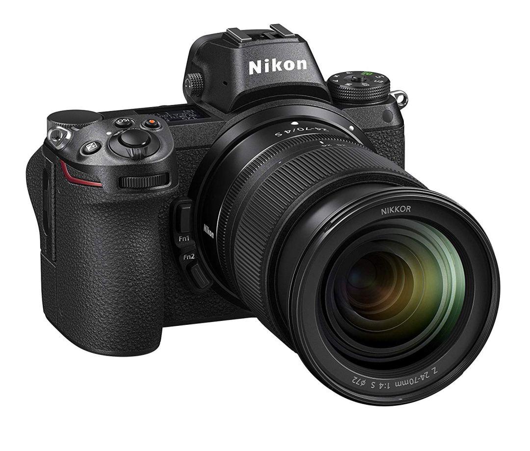 Nikon Z6 with 24-70 mm zoom