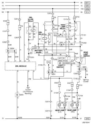 Electrical Wiring Diagram 2006 NubiraLacetti 11 DRL (DAY