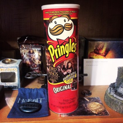 Definitely this Pringles container which I'm pretty sure I've posted about multiple times before, haha.