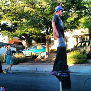 4th of july on stilts
