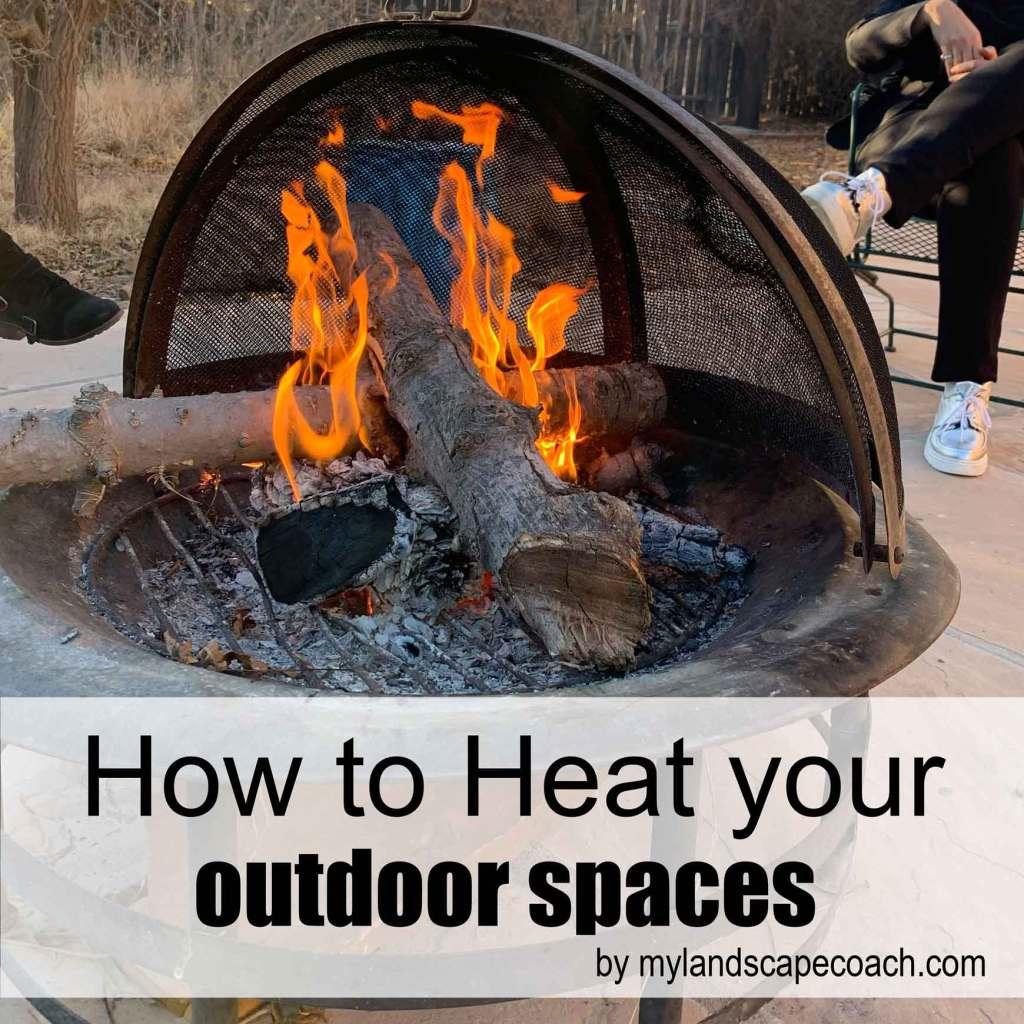 Heating outdoor spaces