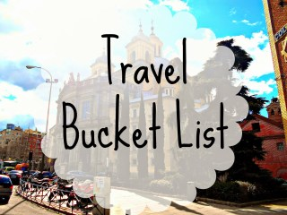 lavender tinted word, travel, bucket list, travel bucket list,