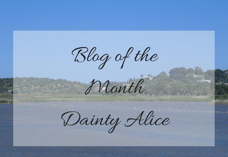 blog of the month, mylavendertintedworld, daintyalice, dainty alice,