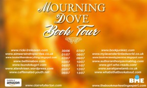The full lsit of participants in the Mourning Dove Blog tour.