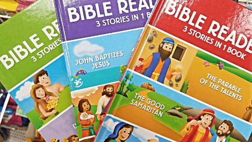Dollar Tree Bible Readers for Kids
