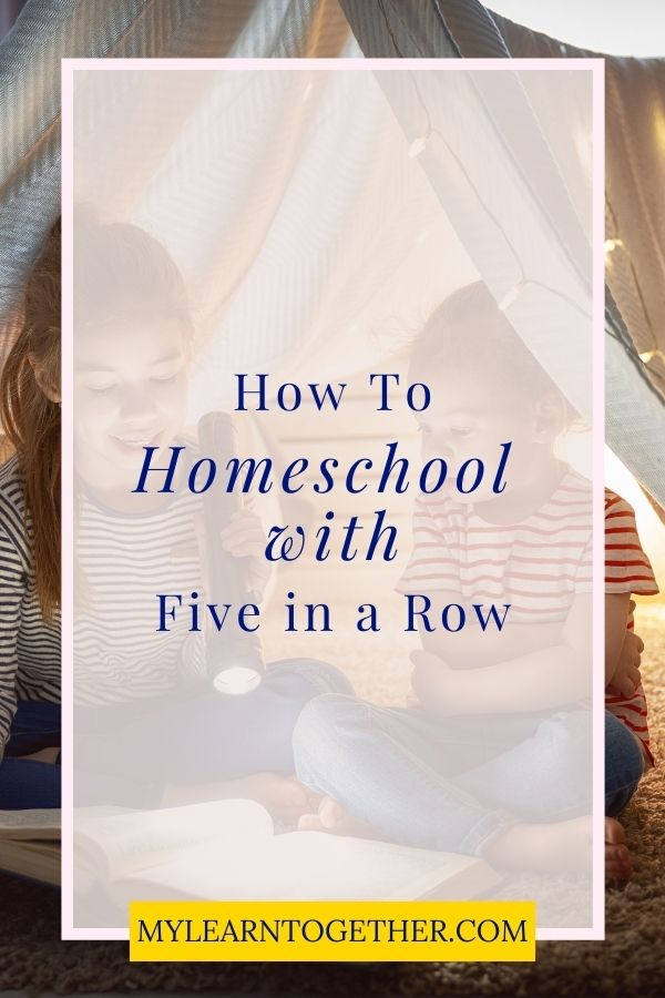 Pin How to Homeschool with Five in a Row