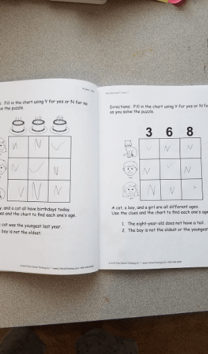 Critical thinking for kindergartners