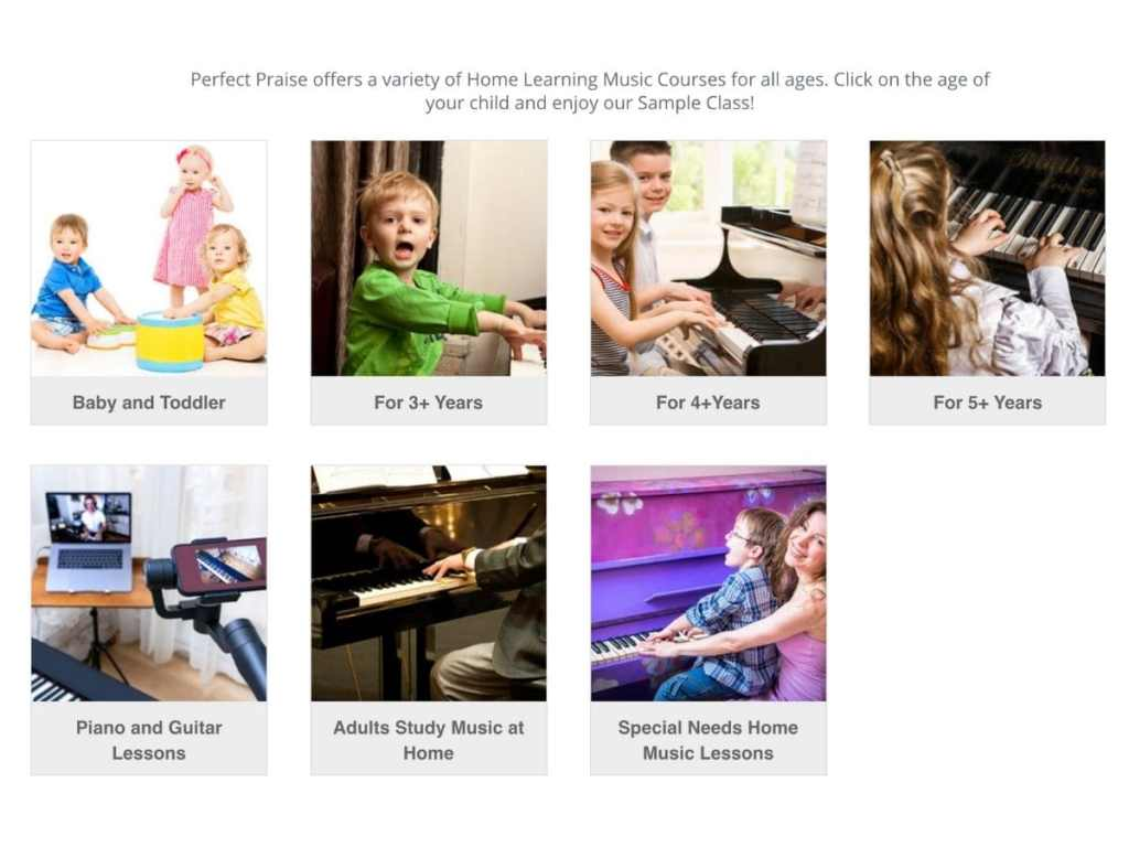 Online piano music lessons for kids
