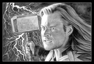 Thor, prints available: 4x6, 8x12, 11x17