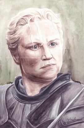 Gwendoline Christie\Brienne, Game of Thrones