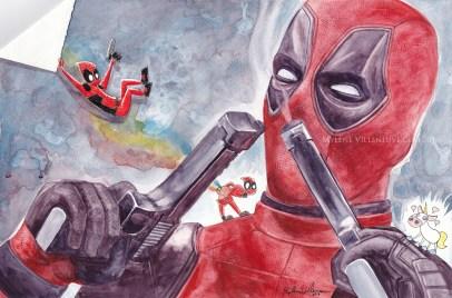 Deadpool, prints available: 4x6, 8x12, 11x17