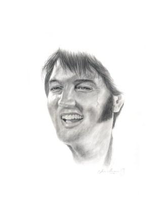 Elvis, prints available: 8 x 10