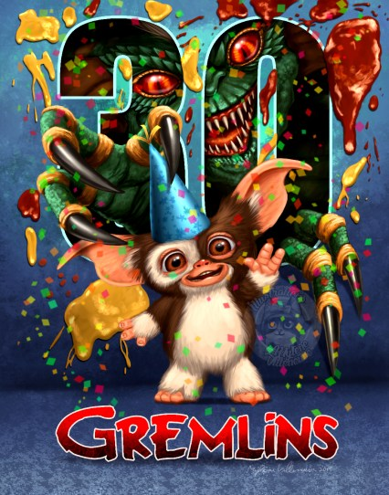 Gizmo, Prints available: 11 x 17