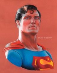 Superman, prints available 8 x 10