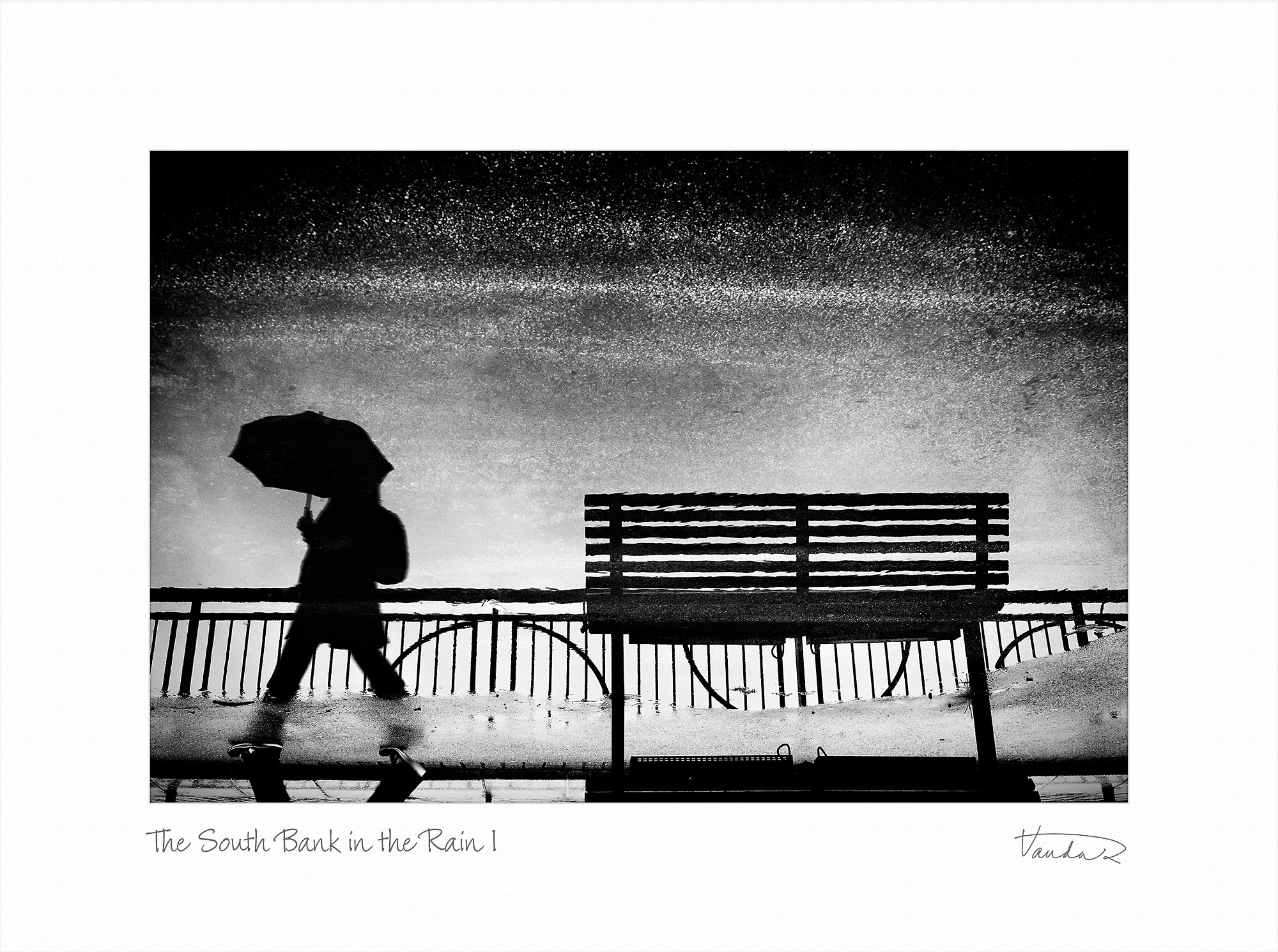 The South Bank in the Rain I