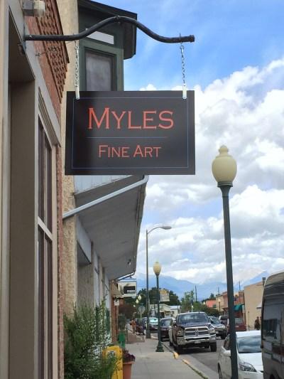 Visit Myles Fine Art in Salida, Colorado
