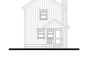 Front Elevation Plans-Custom Home | Virden, Manitoba Canada