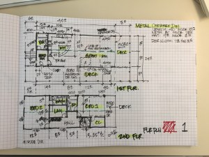 Custom Metal Container Home-2 Story-Proposed Revised Floor Plan