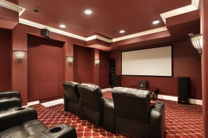 Media Room Addition Design, South Carolina