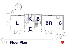 Custom Small House-Floor Plan-Regina Beach, Saskatchewan