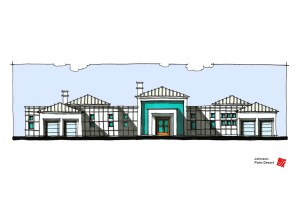 Myles Nelson McKenzie Design-Conceptual Elevation-Front-Johnson