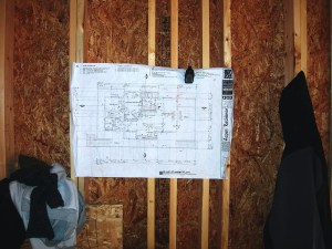 Myles Nelson McKenzie Design-Custom Square Log Mountain Home-Construction Framing Plans