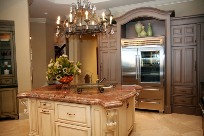 Myles Nelson McKenzie Design-Design & Construction Plans for Kitchen Remodels 4-Multi Colored Cabinets