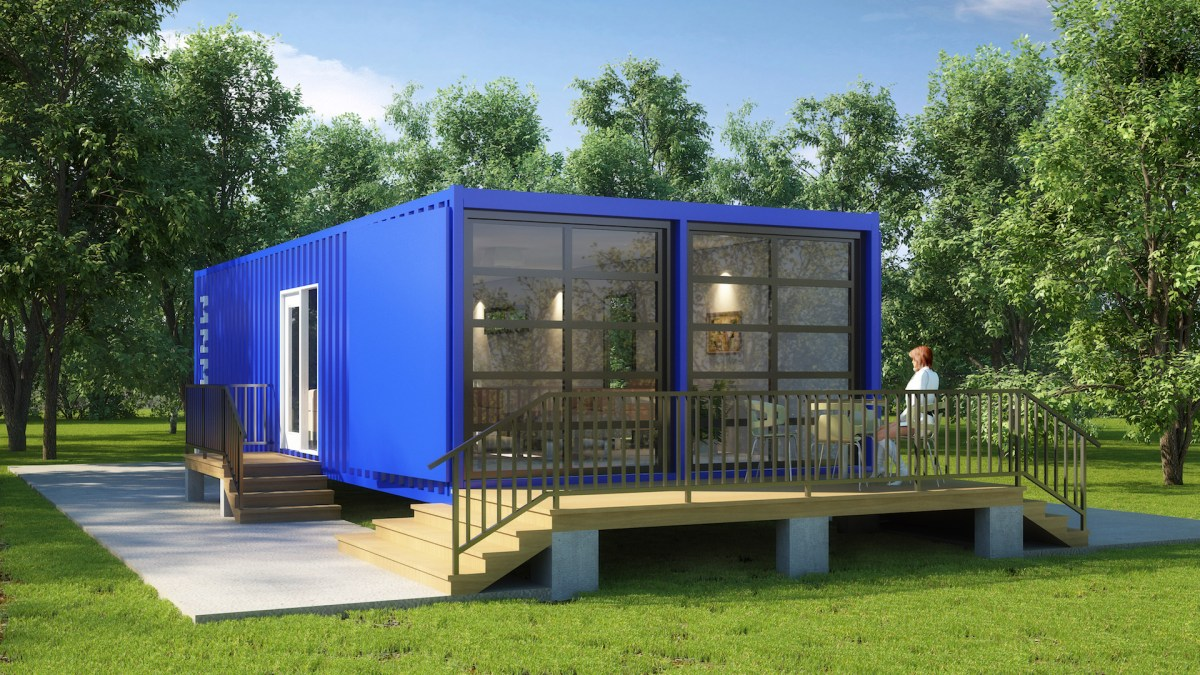 Metal Container Home Design-01
