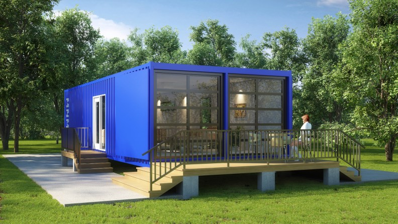 Metal Container Home Design