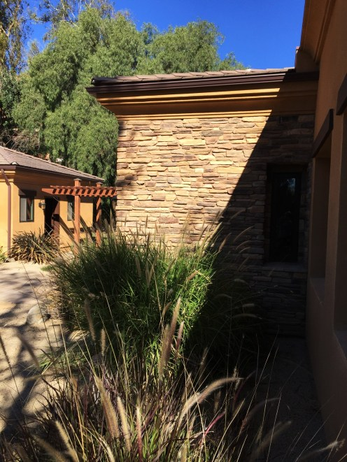 Home Remodel-Italian Ranch-Orange Acres-New Entry Tower Side View