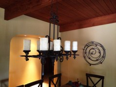 Home Remodel-Italian Ranch-Orange Acres-Dining Room Light