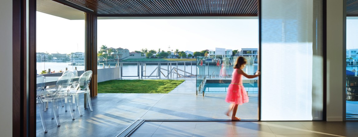 Open your home to the outdoors with Centor door systems!