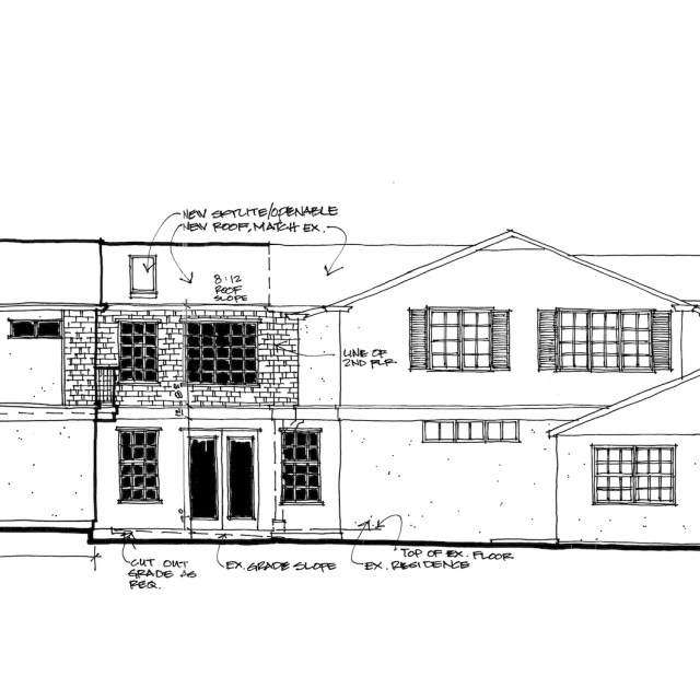 Home Addition Design-Cottage Country-Corona Del Mar, CA