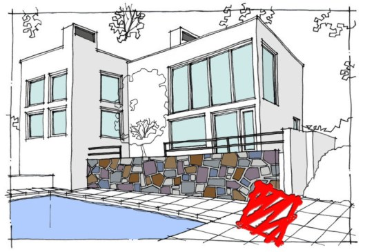 Myles Nelson McKenzie Design-Contemporary Home Design-Rear View-Los Angeles California