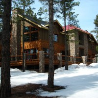 Rustic Home Design-Flagstaff Ranch