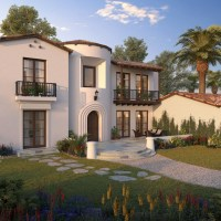 Spanish Colonial Revival-Custom Home Design