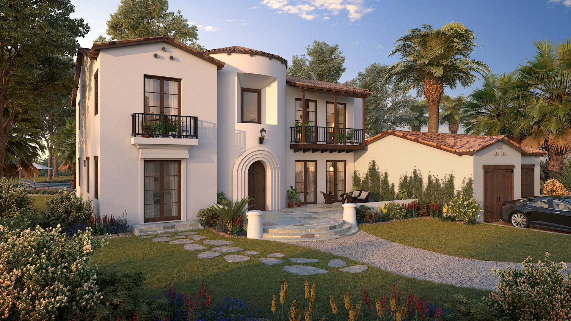 Myles Nelson McKenzie Design-Spanish Colonial Revival Custom Home Design-Paso Robles California