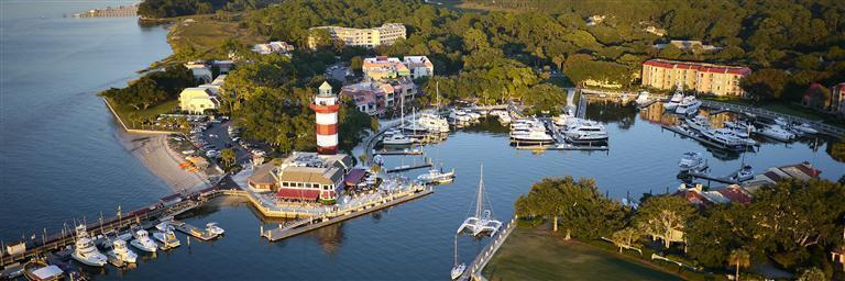 Harbour Town Marina in Harbour Town-Sea Pines, Hilton Head Island, South Carolina