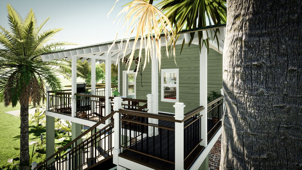 Myles Nelson McKenzie Design-New 800 sf ADU Residence-Charleston, South Carolina