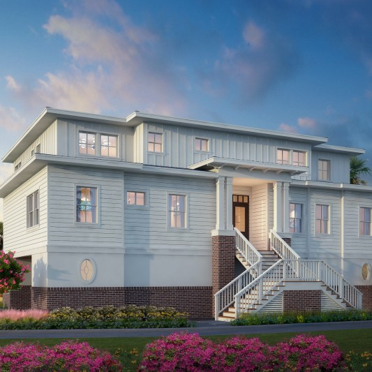Lowcountry Custom Home Design-Saint Helena Island, South Carolina